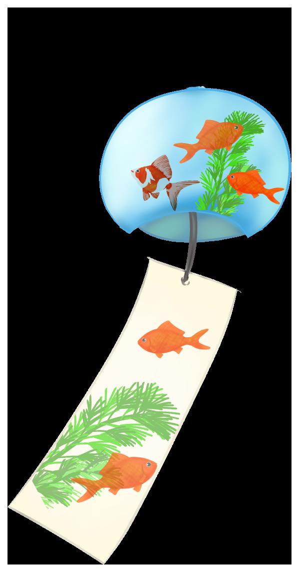 金魚の風鈴