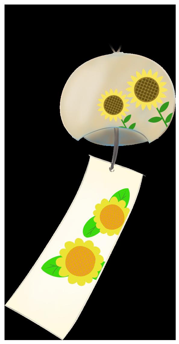 ひまわりの風鈴
