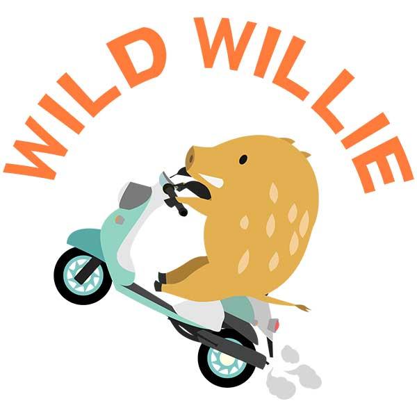 ウィリー猪デザイン