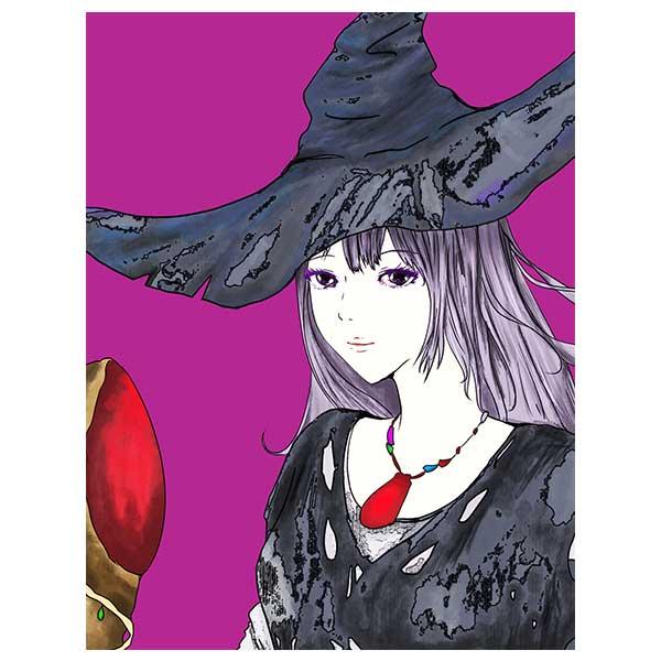黒い魔女デザイン