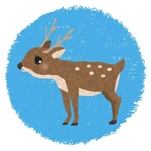 鹿デザイン