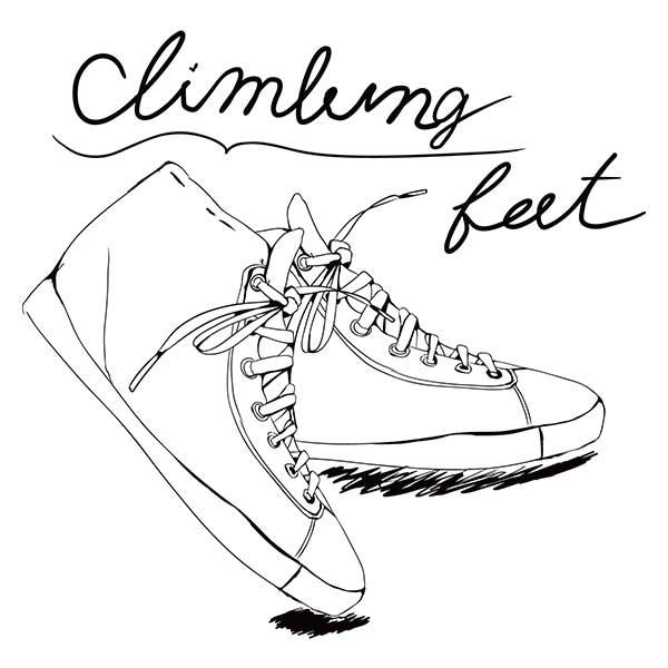 靴の線画デザイン