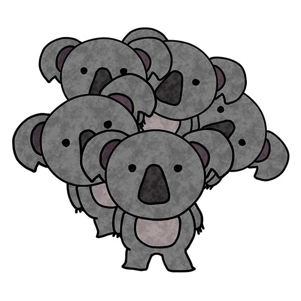 コアラ達デザイン