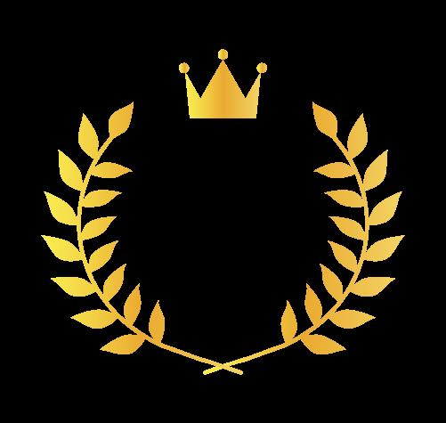 王冠月桂樹1のイラスト