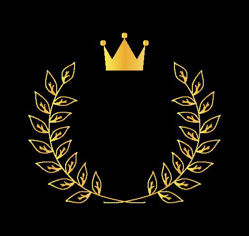 王冠月桂樹2のイラスト