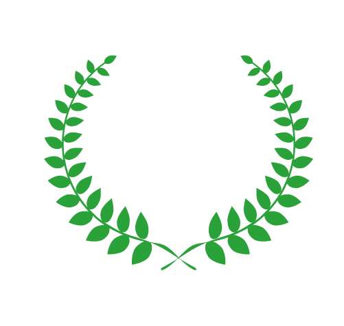 シンプルな月桂樹1のイラスト