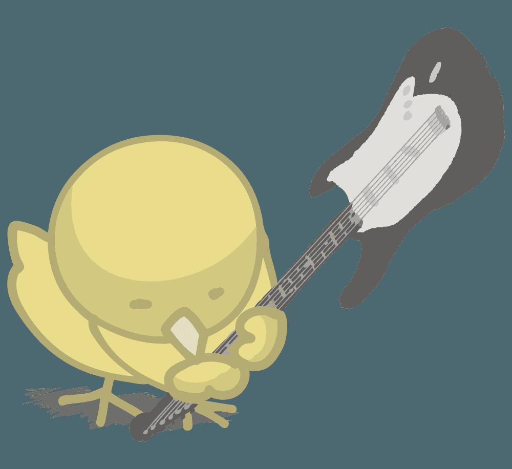 オピーヌちゃんギターを叩きつける!
