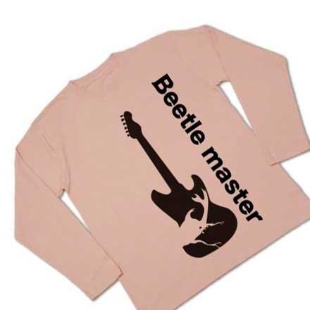 長袖ギターカブト虫Tシャツ