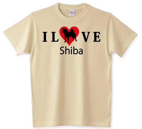 ilove shibaTシャツ