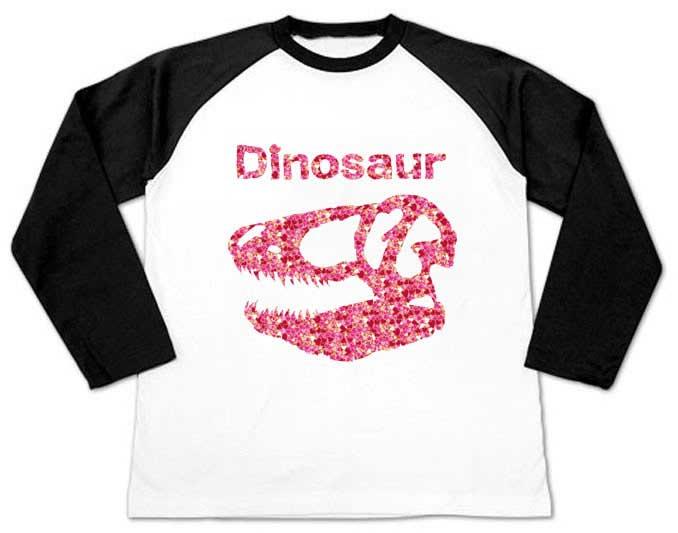 ティラノサウルスのハートTシャツ