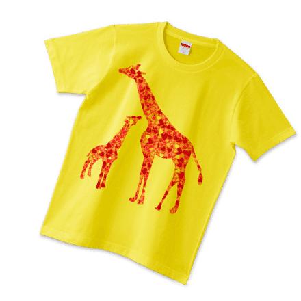 イエローキリンTシャツ