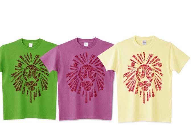 5.6ozライオンマークTシャツ
