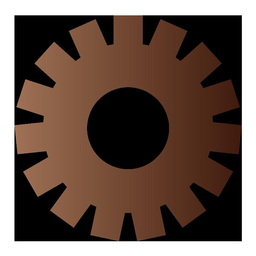 茶色い歯車