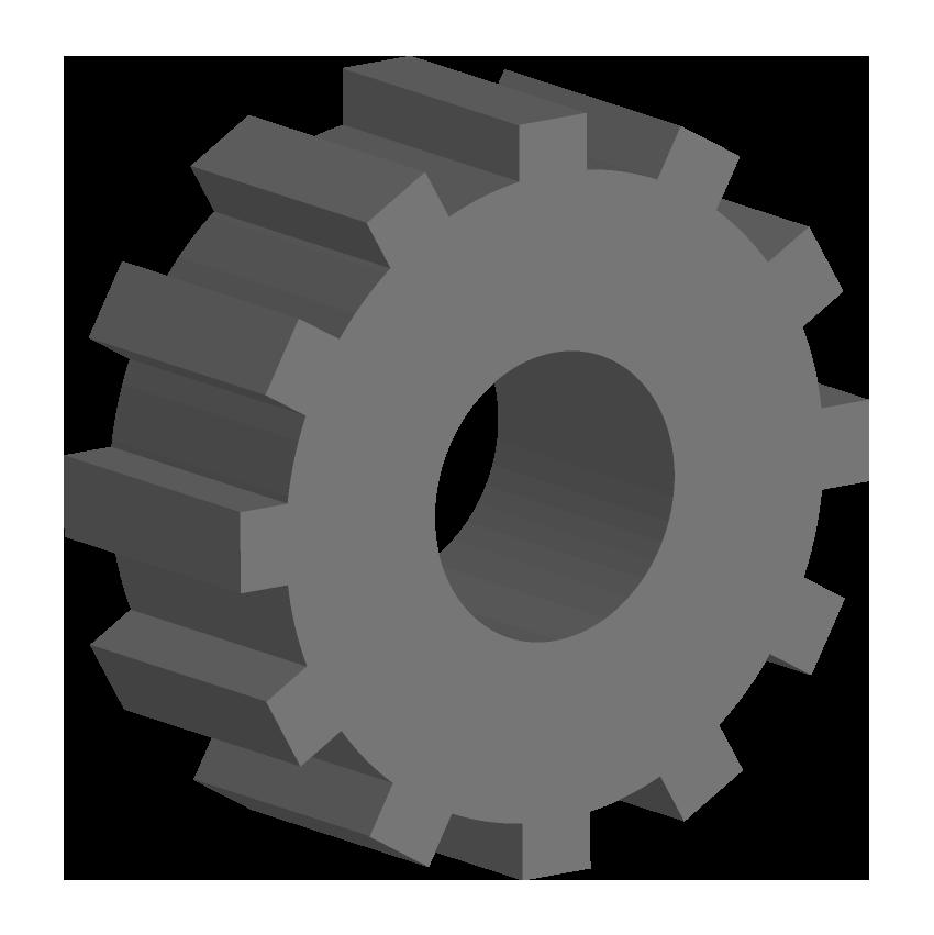 立体的な歯車