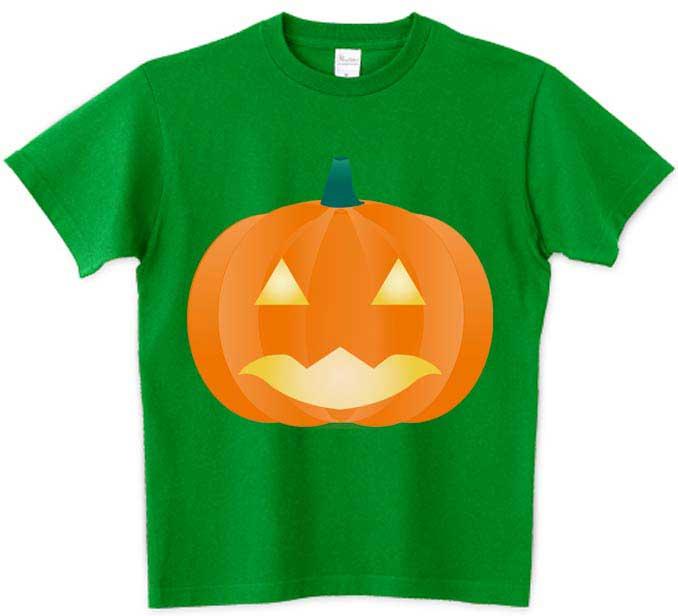 シンプルなジャックランタンのTシャツ