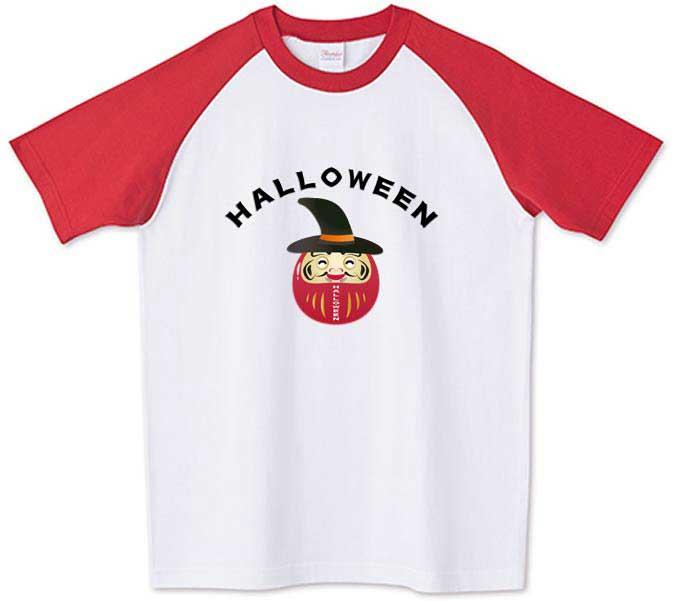 ハロウィンのだるまTシャツ