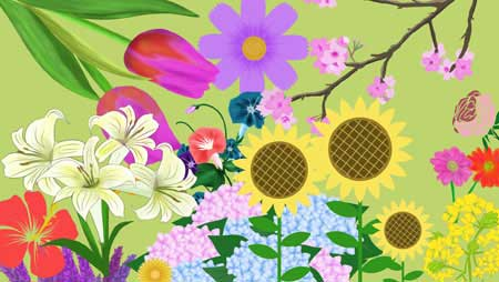 花イラスト - 全て無料!きれいで可愛いフリー素材集