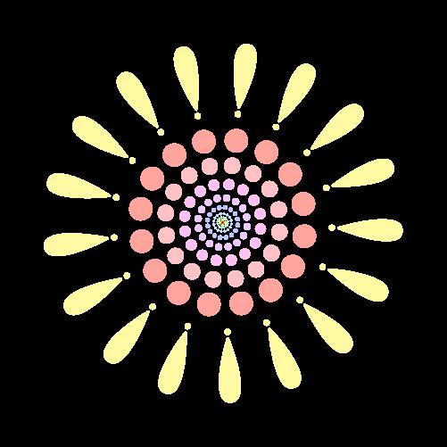 花火のイラスト1