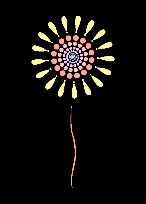 打ち上げ花火のイラスト2