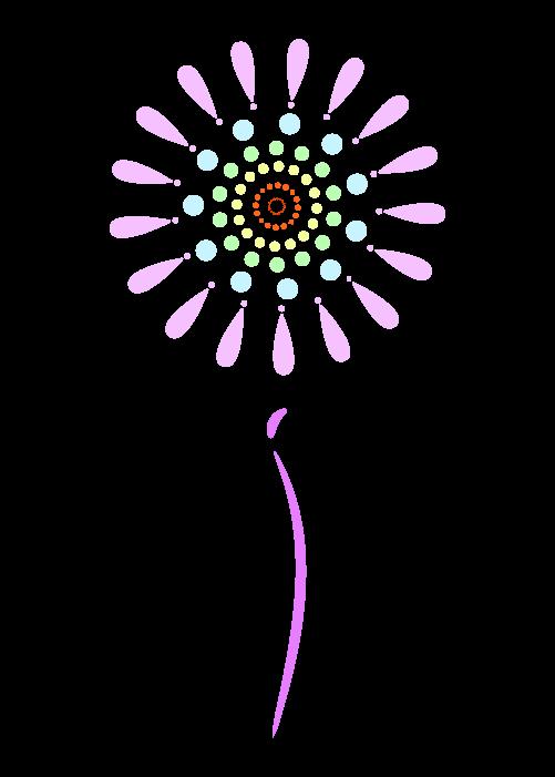 打ち上げ花火のイラスト4