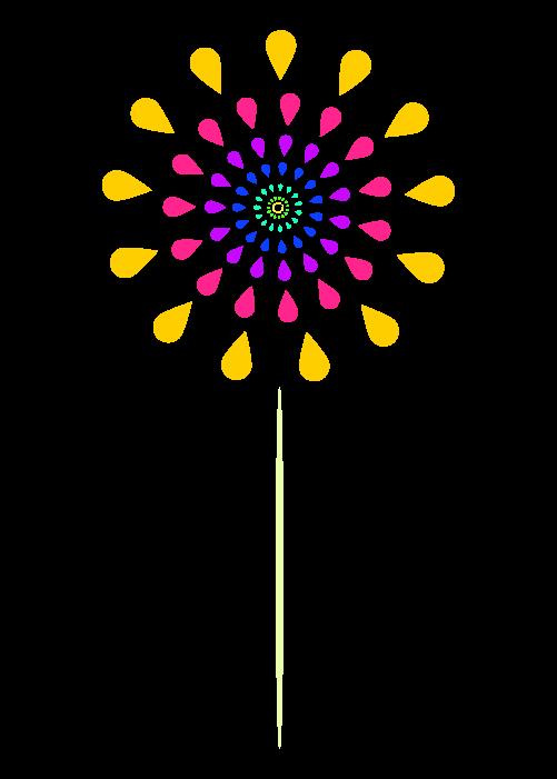 打ち上げ花火のイラスト5