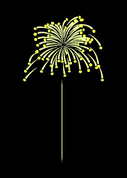打ち上げ花火のイラスト7