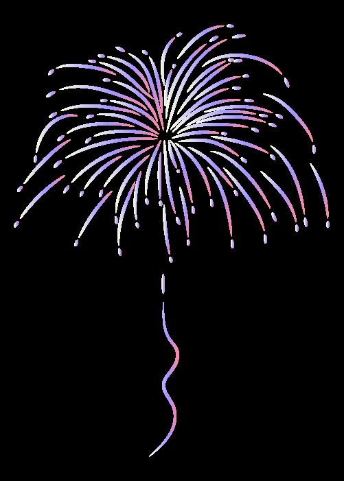 打ち上げ花火のイラスト8