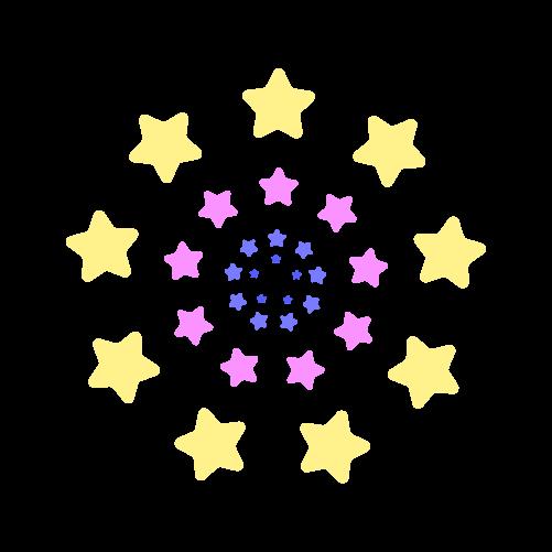 花火のイラスト3