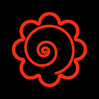 かわいい花丸のイラスト3