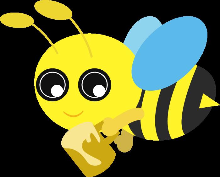 シンプルな蜂のイラスト