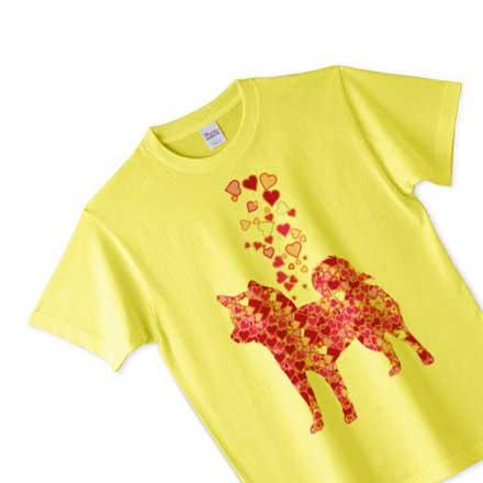 柴犬ノーマルTシャツ(イエロー)