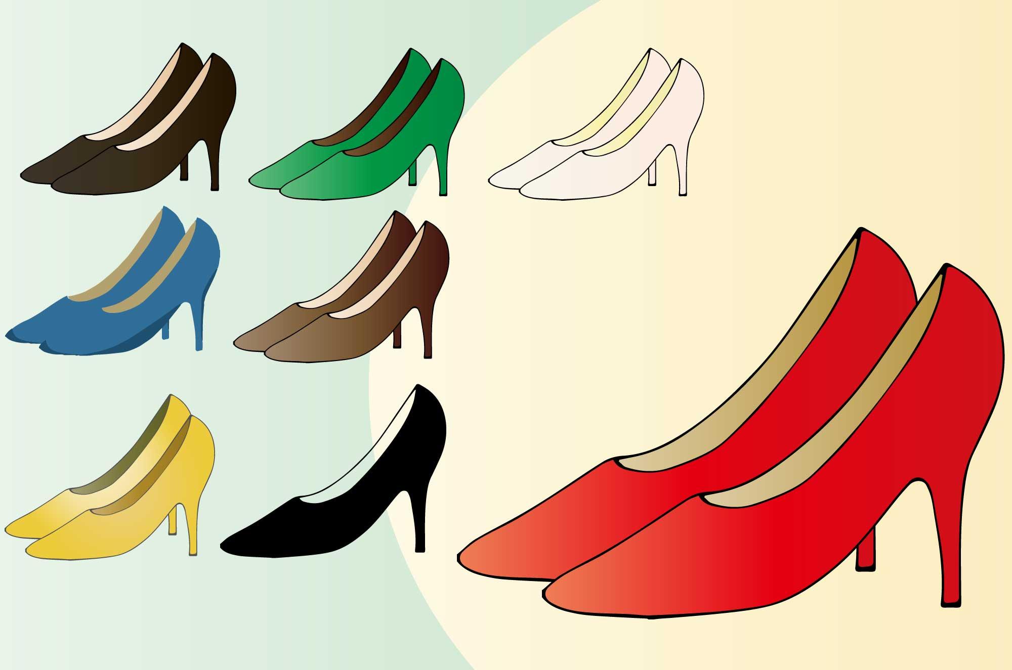 ハイヒールのイラスト - 可愛くてお洒落な無料靴素材