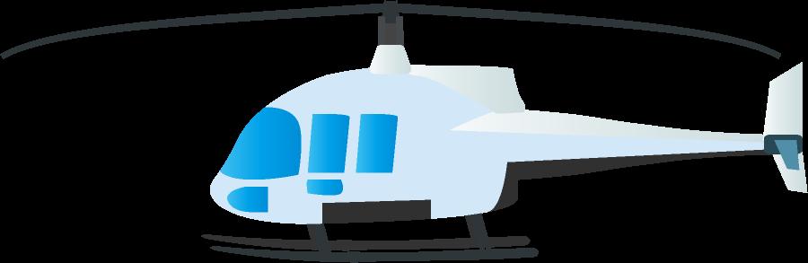 可愛いヘリコプター