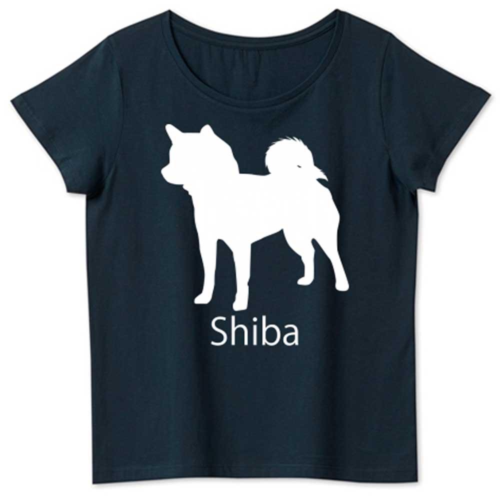 シンプル柴犬Tシャツ