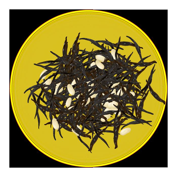 ひじきと煮豆のイメージイラスト