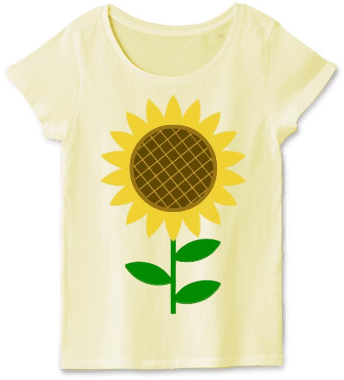 定番ひまわりTシャツ