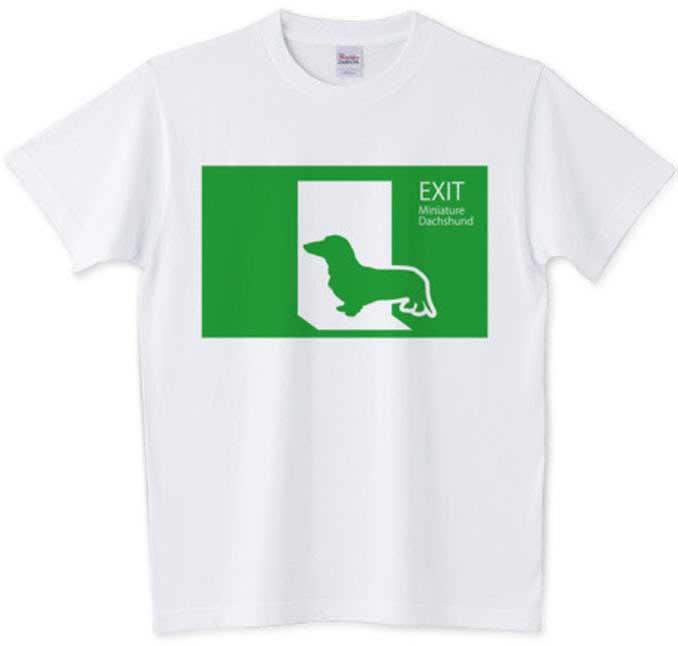 非常口Tシャツ