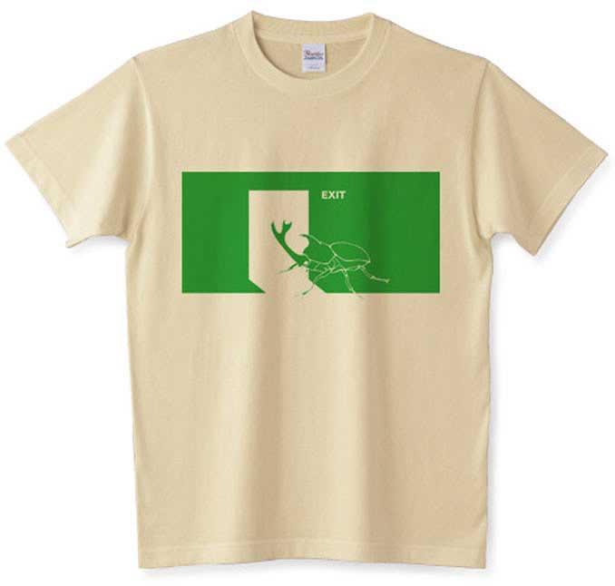 EXITカブトムシTシャツ