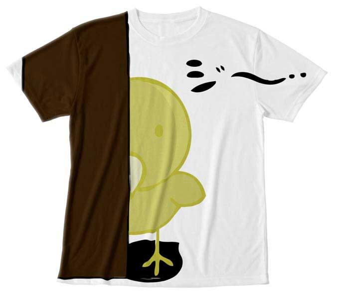 泣いているオピーヌちゃんのTシャツとスゥエット