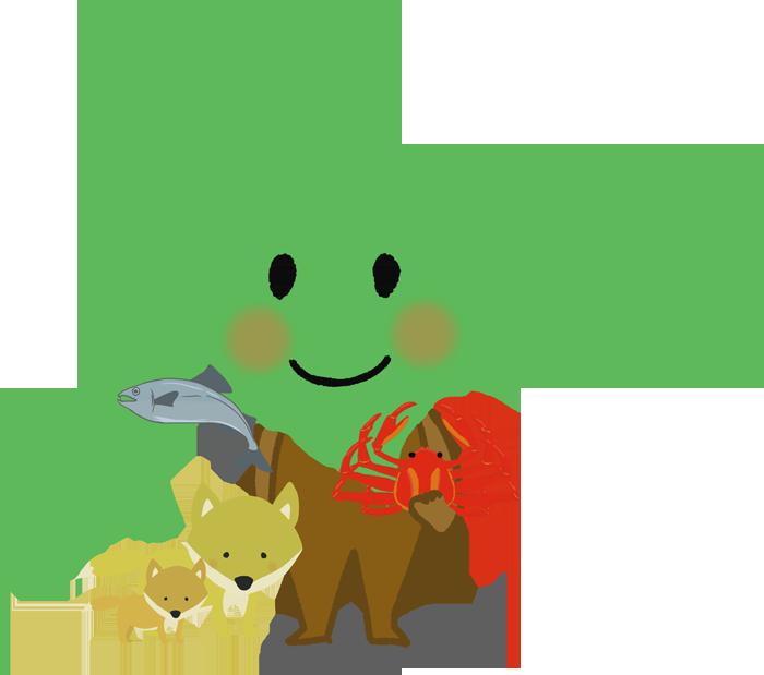 北海道のキャラクターイラスト