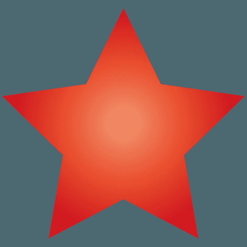 赤い星イラスト