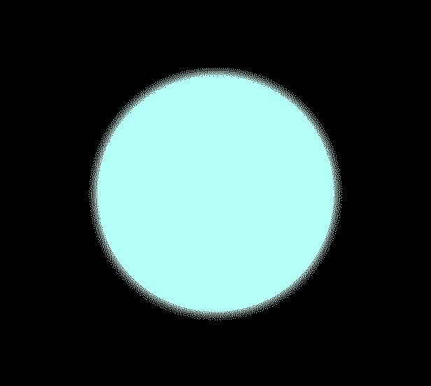 ほたるの光(青)のイラスト