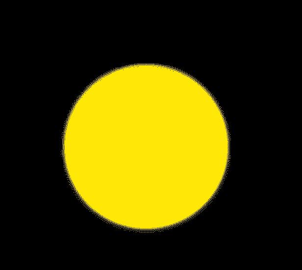 ほたるの光(濃黄)のイラスト