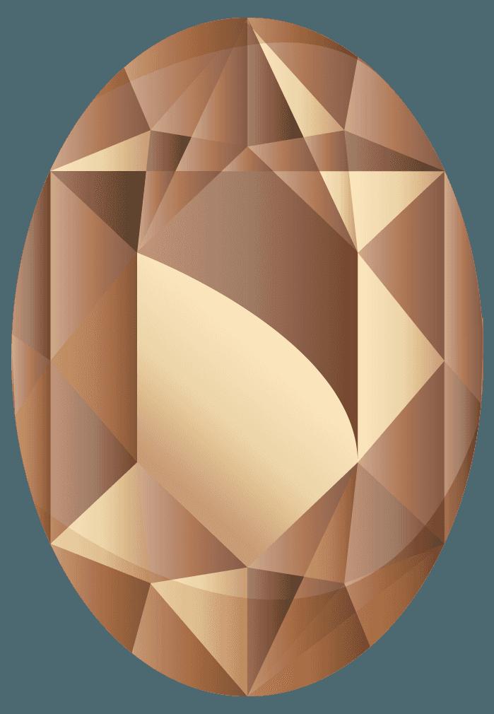 ガーネットの宝石イラスト