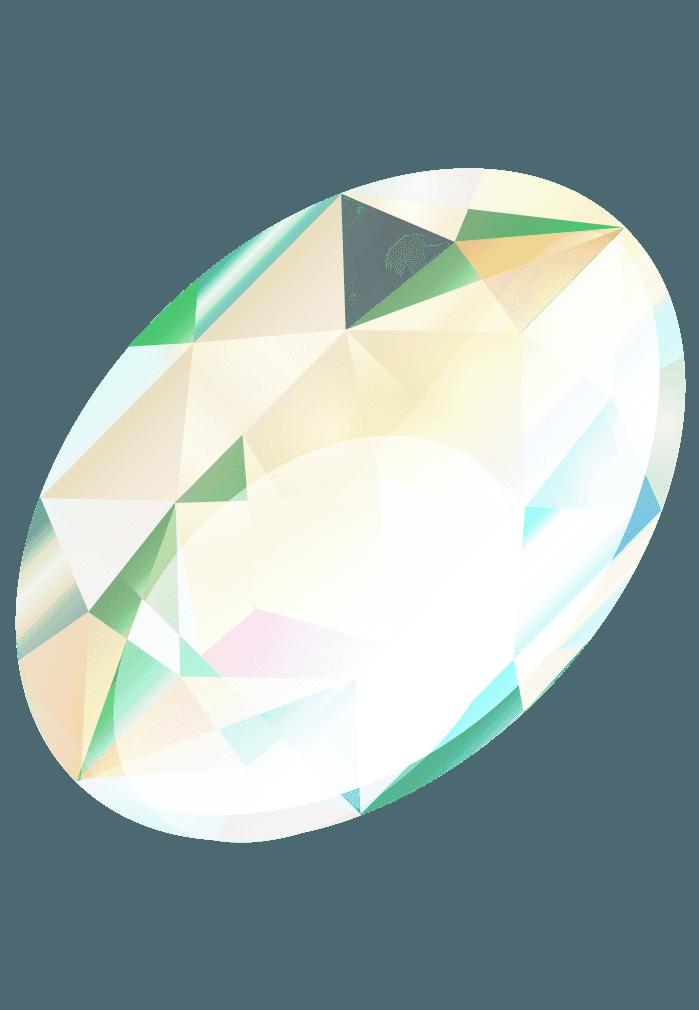 オパール宝石イラスト