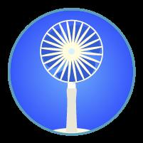 扇風機アイコンイラスト