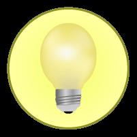 電球アイコンイラスト2