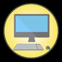 パソコンアイコンイラスト