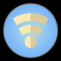 WiFiアイコンイラスト