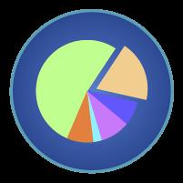 円グラフアイコンイラスト2